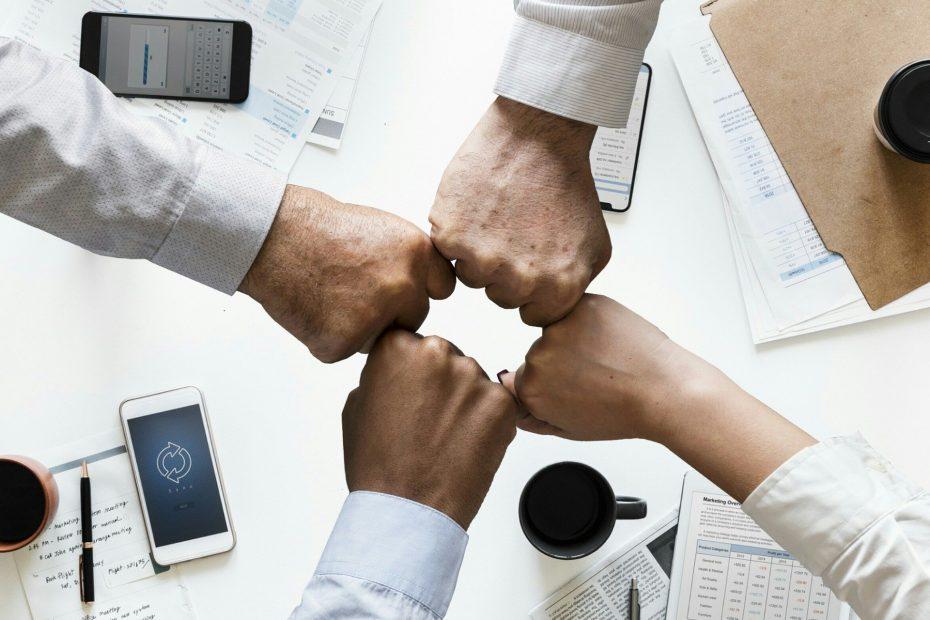 trabajo en equipo online